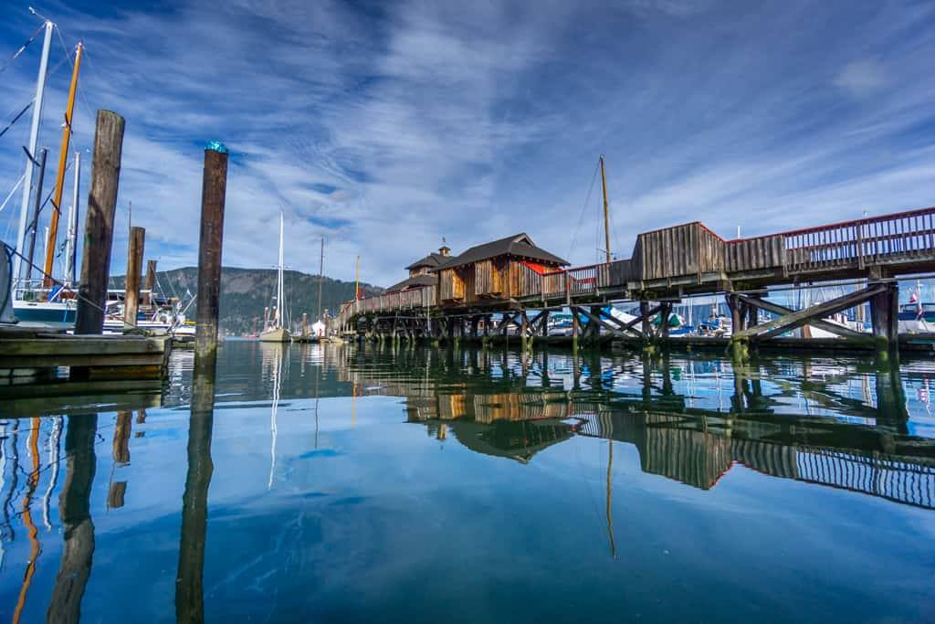 THE COWICHAN BAY MARITIME CENTRE  & COWICHAN WOODEN BOAT SOCIETY