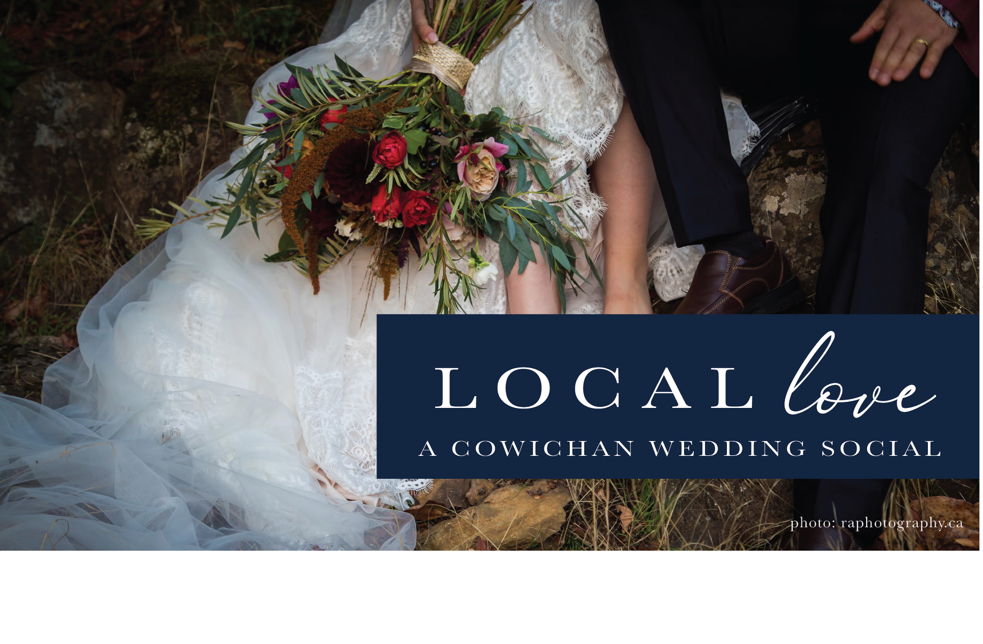 Local Love A Cowichan Wedding Social on Eventbrite