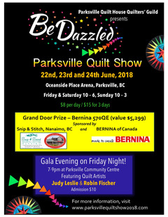 BeDazzled Parksville Quilt Show - Whats On Digest