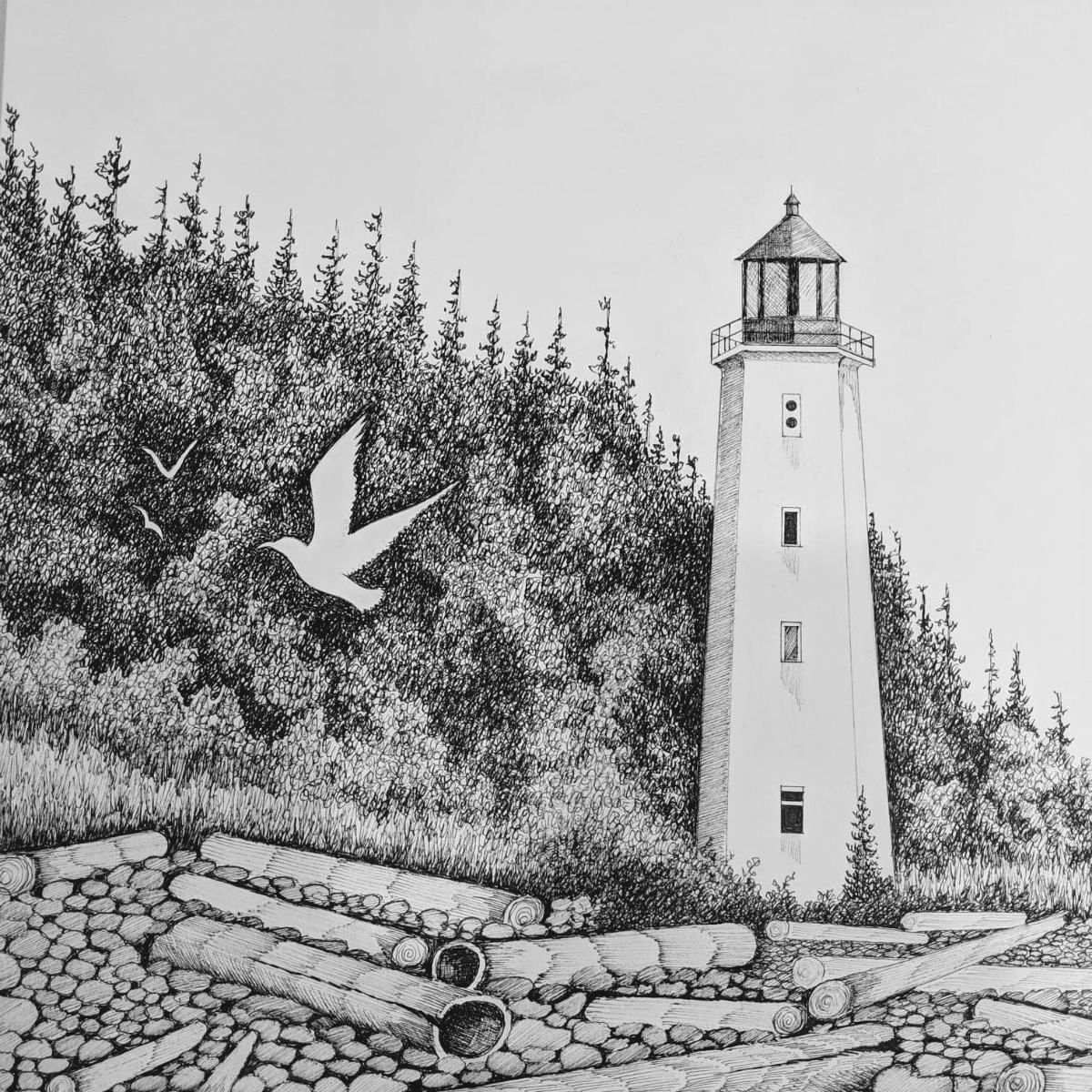 Learn to create pen ink art cards book illustrations with michael duncan