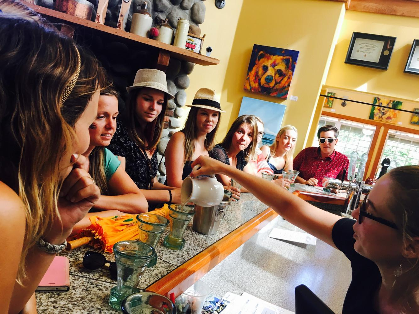 Wineries and Cideries Tastings and Tours
